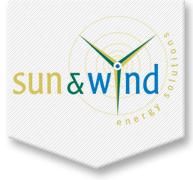 Sun en Wind